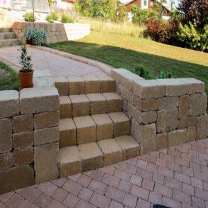 Mauersteine, Oxford Sandstein,