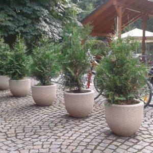 Pflanzgefäße, Round Plant Pot