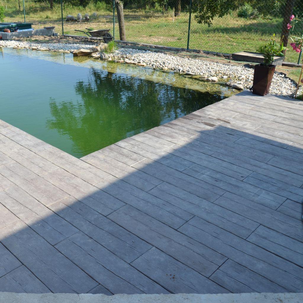 Stone Wood Modern 1, Terrassenplatte