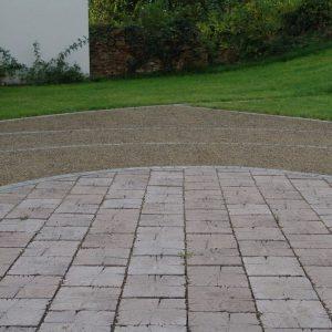 Stone Wood Nostalgie, Terrassenplatte